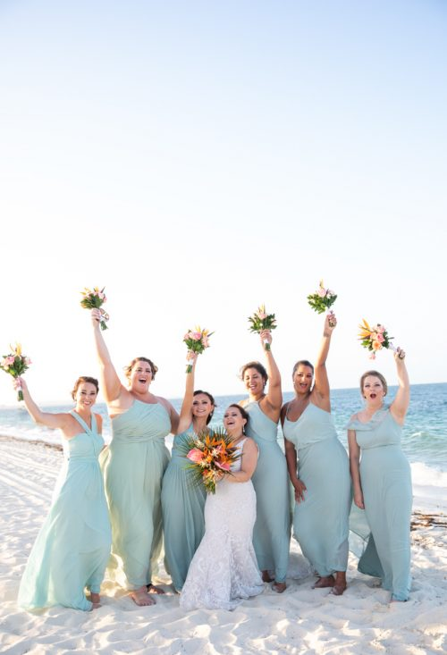 Rebecca James Secrets Playa Mujeres Wedding 6 500x733 - Rebecca & James - Secrets Playa Mujeres