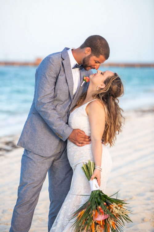 Rebecca James Secrets Playa Mujeres Wedding 9 500x750 - Rebecca & James - Secrets Playa Mujeres