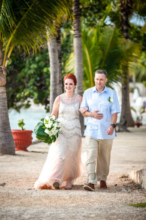 Brittan Colman Akumal Wedding 13 1 500x750 - Brittan & Colman - Cannon Point & Lol-Ha Restaurant