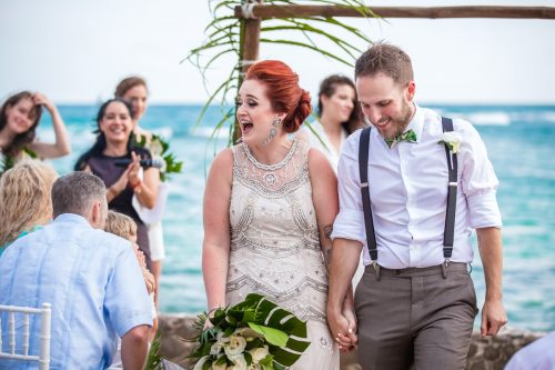 Brittan Colman Akumal Wedding 5 500x333 - Brittan & Colman - Cannon Point & Lol-Ha Restaurant