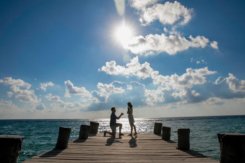 Matt Grace Puerto Morelos Proposal 4 1024x683 - 7 Helpful Tips From A Playa Del Carmen Engagement Photographer