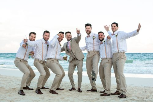 Vanessa Chris Akiin Beach Club Tulum Wedding 10 1 500x333 - Vanessa & Chris - Ak'iin Beach Tulum