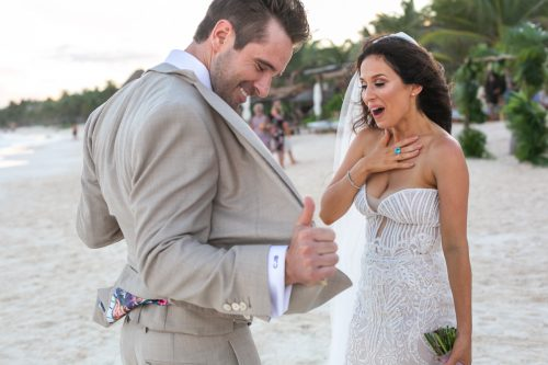 Vanessa Chris Akiin Beach Club Tulum Wedding 8 1 500x333 - Vanessa & Chris - Ak'iin Beach Tulum