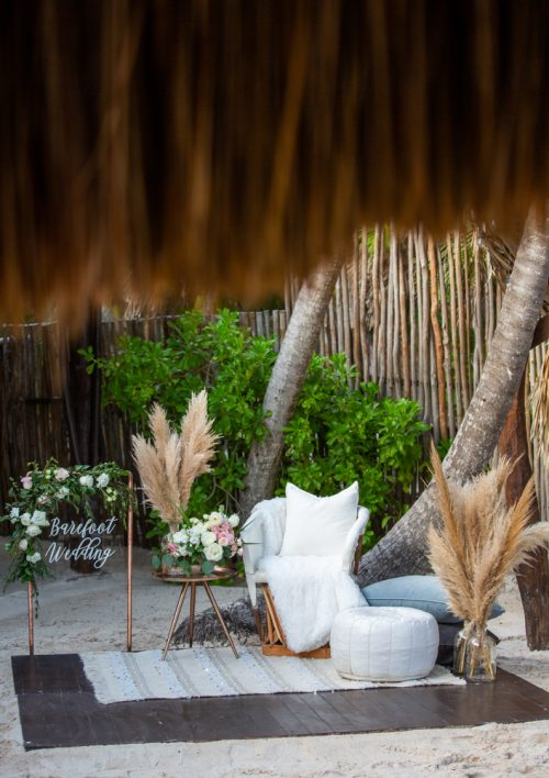 Vanessa Chris Akiin Beach Club Tulum Wedding 8 500x708 - Vanessa & Chris - Ak'iin Beach Tulum