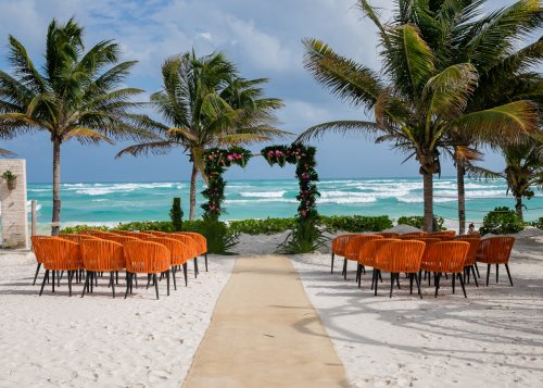 Ginnie Reaves Mia Beach Club Tulum Wedding 11 500x357 - Ginnie & Reaves - Mia Beach Club
