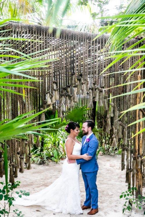 Ginnie Reaves Mia Beach Club Tulum Wedding 13 500x746 - Ginnie & Reaves - Mia Beach Club