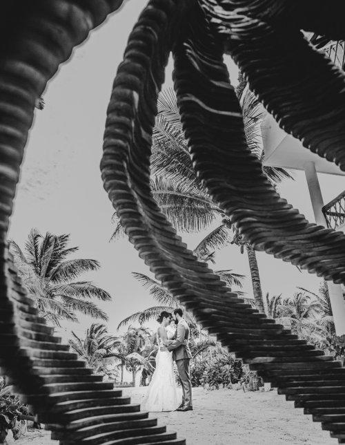 Ginnie Reaves Mia Beach Club Tulum Wedding 14 500x644 - Ginnie & Reaves - Mia Beach Club