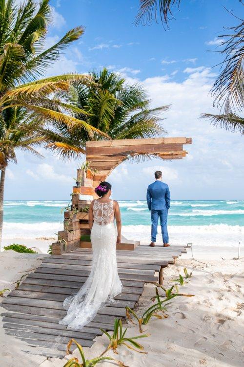 Ginnie Reaves Mia Beach Club Tulum Wedding 17 500x750 - Ginnie & Reaves - Mia Beach Club