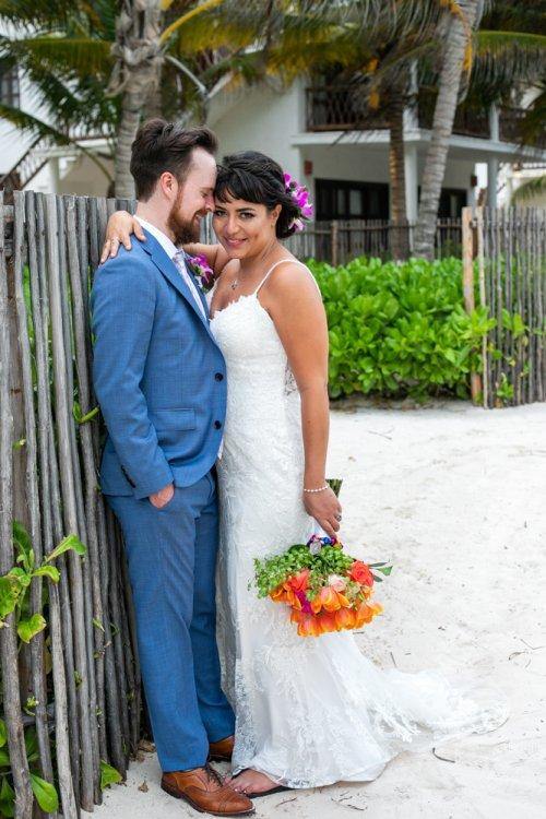 Ginnie Reaves Mia Beach Club Tulum Wedding 3 1 500x750 - Ginnie & Reaves - Mia Beach Club