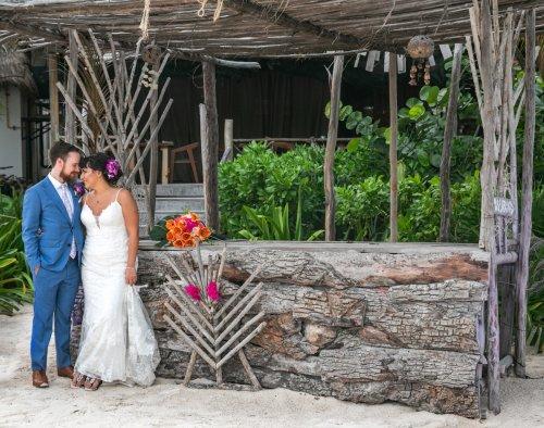 Ginnie Reaves Mia Beach Club Tulum Wedding 3 500x394 - Ginnie & Reaves - Mia Beach Club