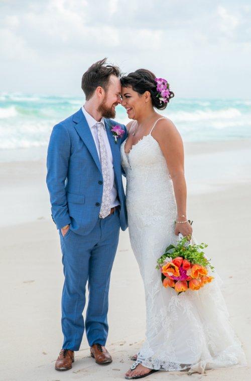 Ginnie Reaves Mia Beach Club Tulum Wedding 7 1 500x760 - Ginnie & Reaves - Mia Beach Club
