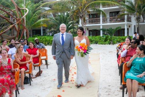 Ginnie Reaves Mia Beach Club Tulum Wedding 8 500x333 - Ginnie & Reaves - Mia Beach Club