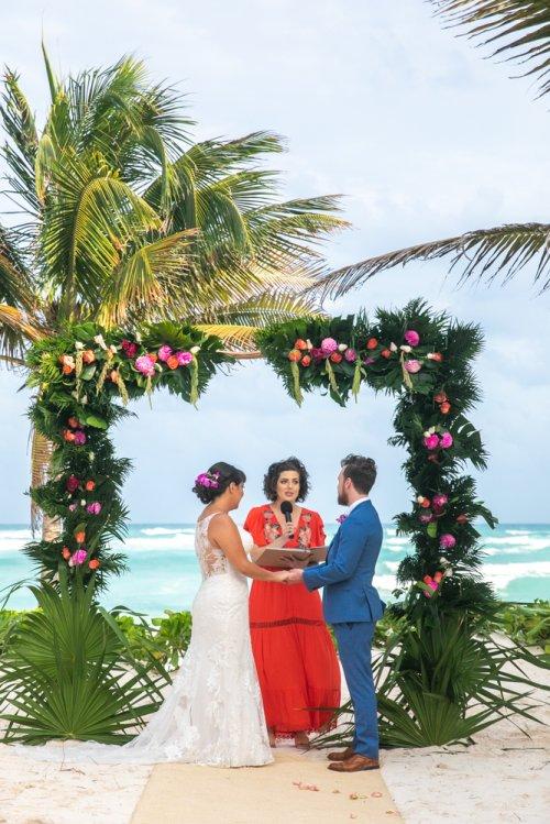Ginnie Reaves Mia Beach Club Tulum Wedding 9 1 500x749 - Ginnie & Reaves - Mia Beach Club
