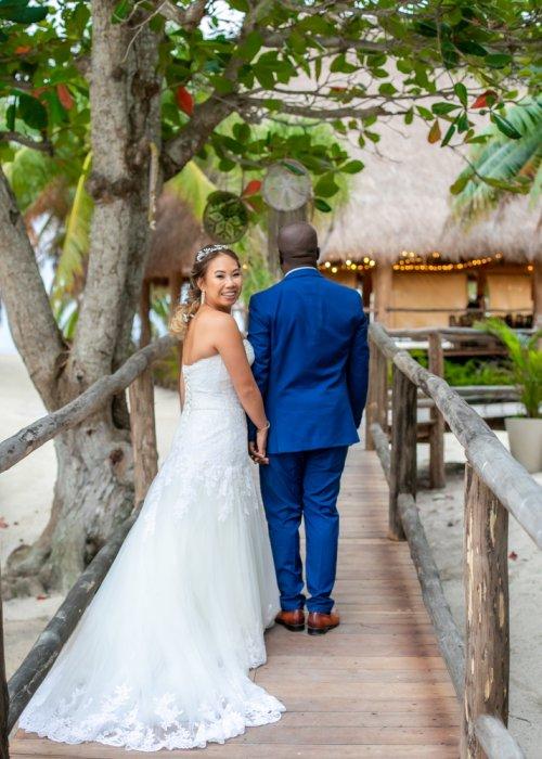 Trang Patrick Blue Venado Beach Wedding 3 500x700 - Trang & Patrick - Blue Venado