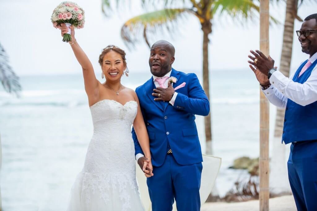 Trang Patrick Blue Venado Beach Wedding 7 1024x683 - Coronavirus: Should You Cancel or Postpone Your Destination Wedding in Mexico?