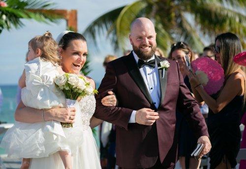 Jenn Colin Dreams Tulum Wedding 17 500x344 - Jennifer & Colin - Dreams Tulum