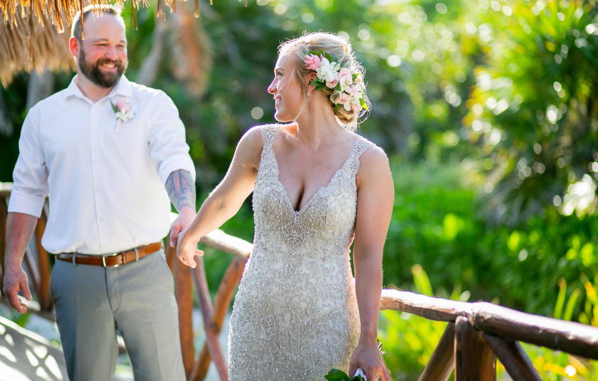 Kaylan Nick Dreams Resort Tulum Wedding 9 - Kaylan & Nick - Dreams Tulum