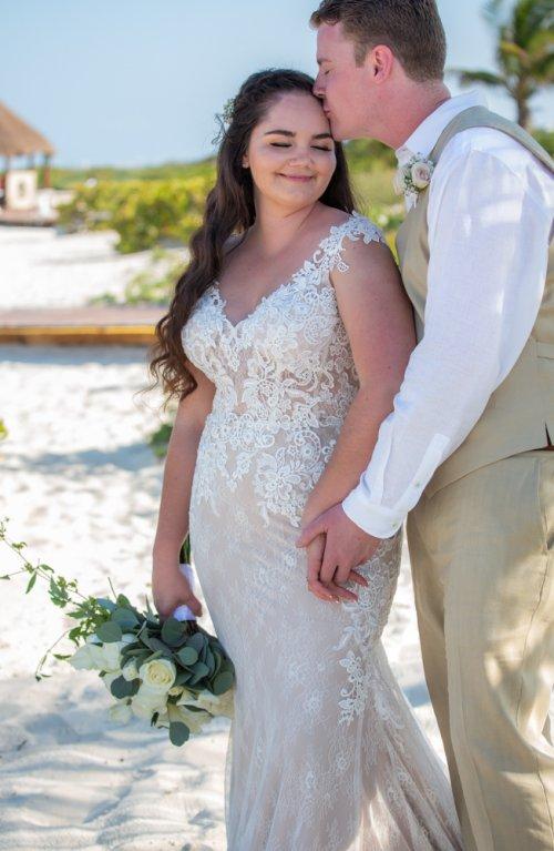 Lauren Adam Dreams Playa Mujeres Wedding 01 11 500x767 - Lauren & Adam - Dreams Playa Mujeres