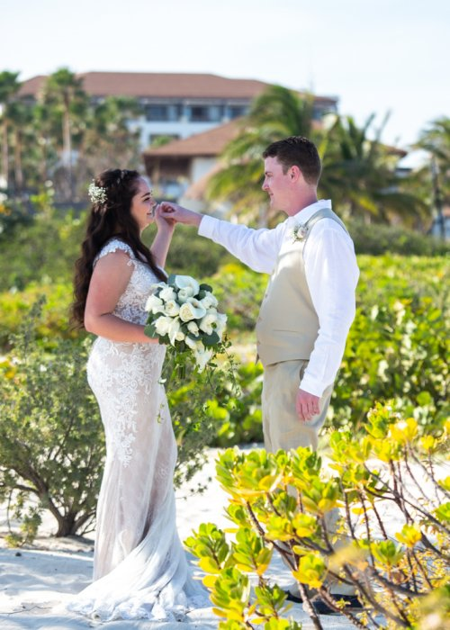 Lauren Adam Dreams Playa Mujeres Wedding 01 13 500x700 - Lauren & Adam - Dreams Playa Mujeres