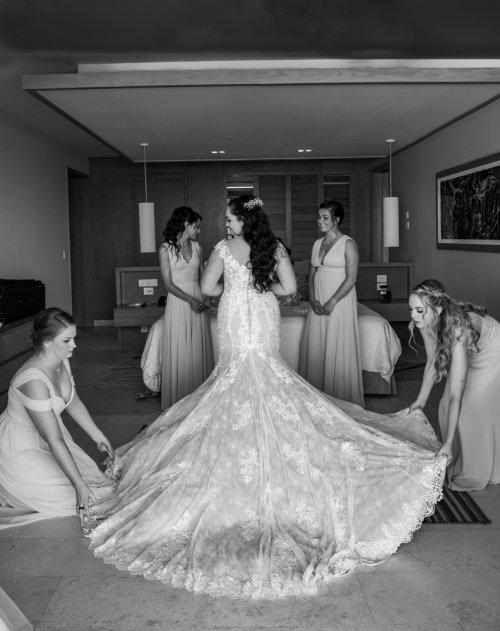 Lauren Adam Dreams Playa Mujeres Wedding 01 14 500x631 - Lauren & Adam - Dreams Playa Mujeres