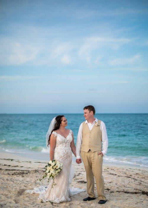 Lauren Adam Dreams Playa Mujeres Wedding 01 6 500x700 - Lauren & Adam - Dreams Playa Mujeres