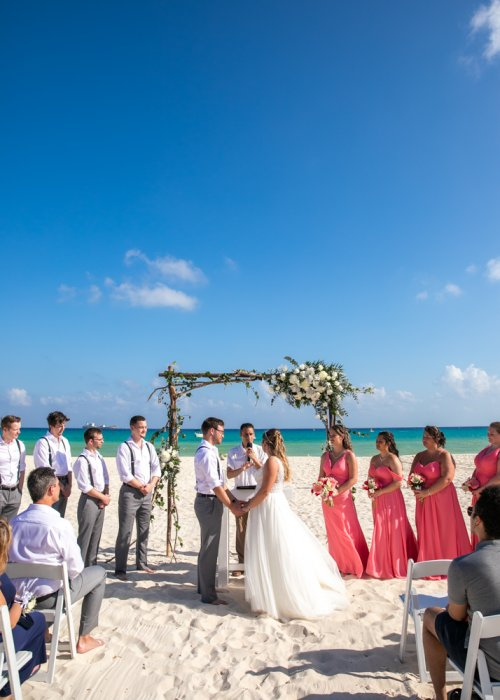 Shelby Josh Sandos Playacar Playa del Carmen Wedding 10 500x700 - Shelby & Josh - Sandos Playacar