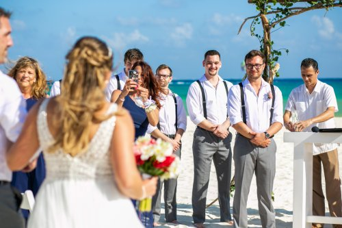 Shelby Josh Sandos Playacar Playa del Carmen Wedding.01 13 1 500x333 - Shelby & Josh - Sandos Playacar